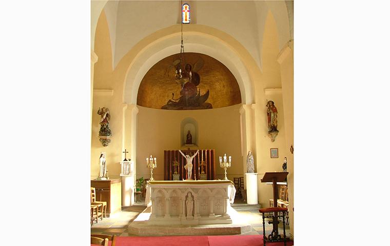 Eglise Saint-Michel à Chavroches