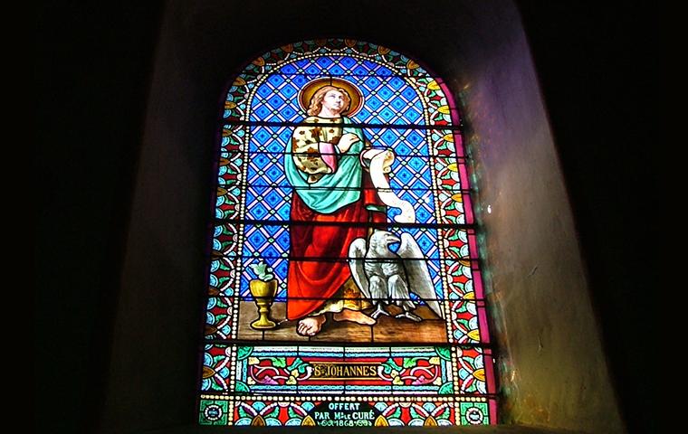 Église Saint-Côme et Saint-Damien à Saint-Léon