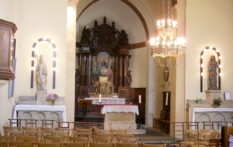 Église Saint-Rémi à Pierrefitte-sur-Loire