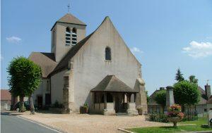 Église Saint-Pourçain à St-Pouçain-sur-Besbre