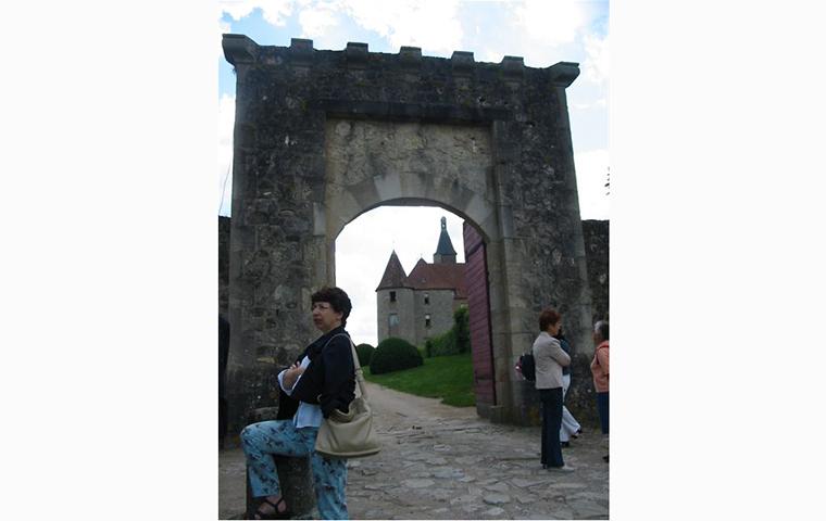 Jardins du château de Beauvoir à Saint Pourçain sur Besbre