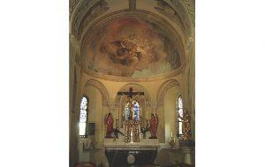 Eglise Saint-Pierre à Châtelperron