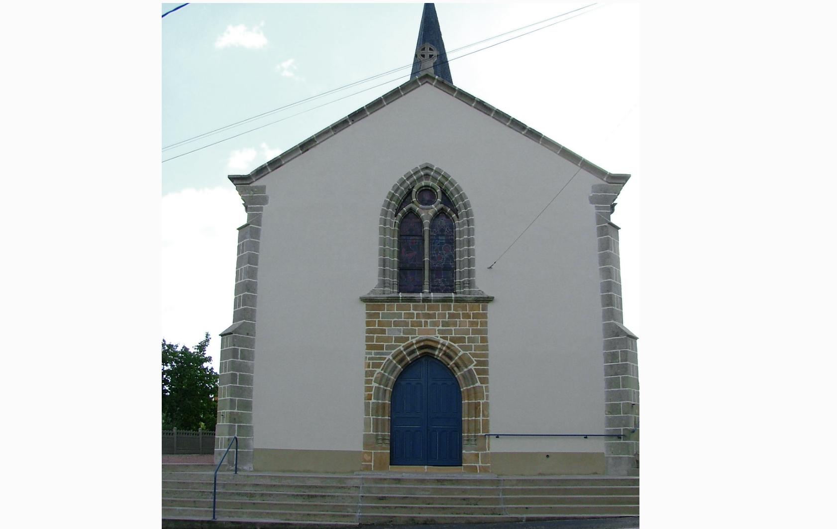 Eglise de Saint Pierre-aux-Liens à Monétay sur Loire