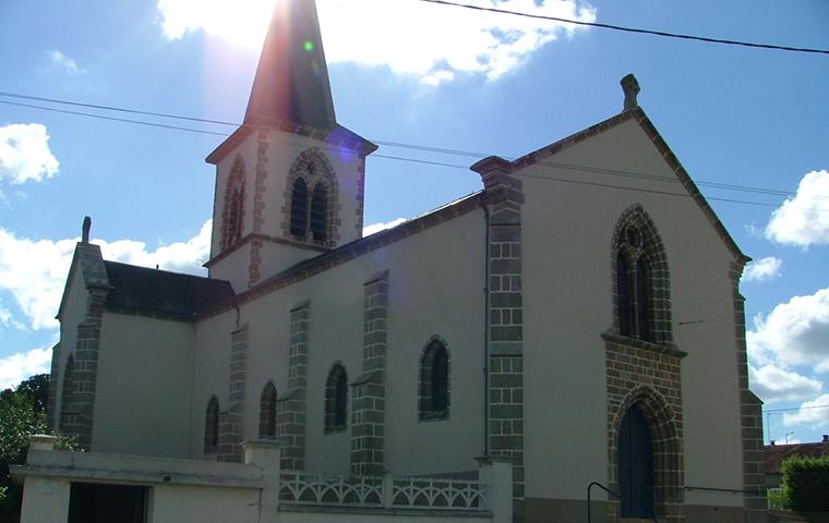 Eglise de saint pierre aux liens mon tay sur loire office de tourisme entr 39 allier besbre et - Office de tourisme varennes sur allier ...