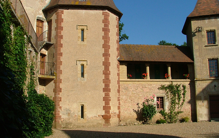Château de Thoury à Saint Pourçain sur Besbre
