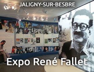 Exposition René Fallet - Jaligny sur Besbre