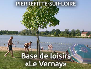Base de loisirs «Le Vernay» PIERREFITTE-SUR-LOIRE