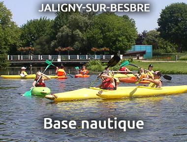 Base nautique à Jaligny sur Besbre