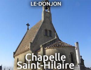 Chapelle Saint-Hilaire - LE DONJON