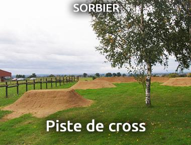 Piste de Cross à Sorbier