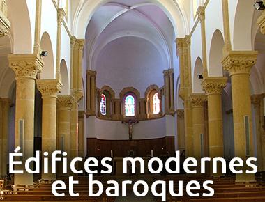 Edifices Modernes et Baroques