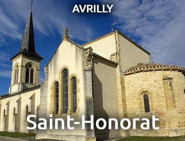 Église Saint-Honorat - AVRILLY