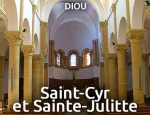 Eglise Saint Cyr et Sainte Julitte - Diou