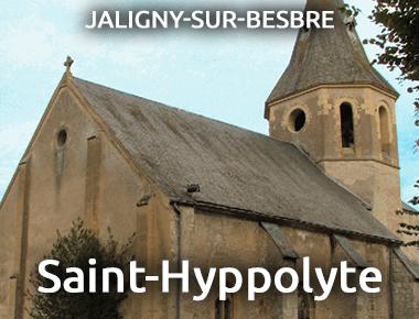 Église Saint-Hyppolyte - JALIGNY-SUR-BESBRE