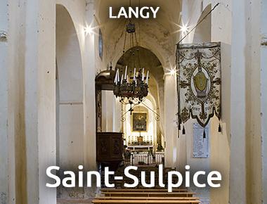 Église Saint-Sulpice - LANGY