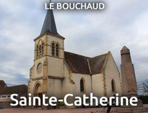 Eflise sainte Catherine - Le Bouchaud