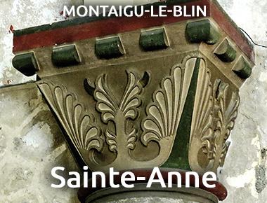 Église Sainte-Anne - MONTAIGU-LE-BLIN