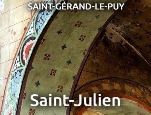 Église Saint-Julien - SAINT GERAND LE PUY