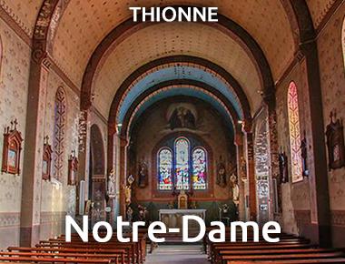Eglise Notre Dame - Thionne