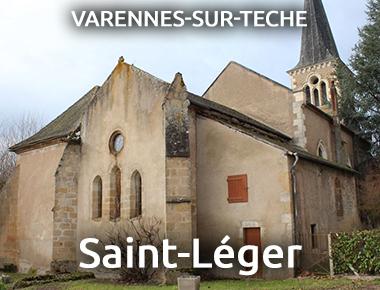 Église Saint-Léger - VARENNES-SUR-TECHE
