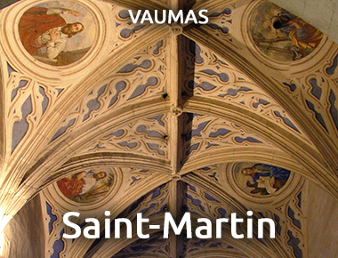 Église Saint-Martin - VAUMAS