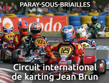 Circuit international de karting Jean Brun PARAY-SOUS-BRIAILLES