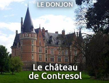 Le château de Contresol - Le-Donjon