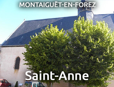 Église Saint-Anne - MONTAIGUËT-EN-FOREZ