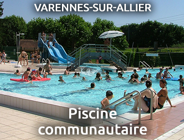 Piscine communautaire à Varennes sur Allier