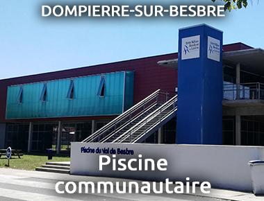 Piscine couvert à Dompierre sur Besbre