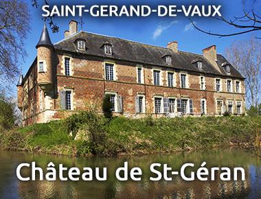 Château de St Géran - Saint Sarand-de-Vaux