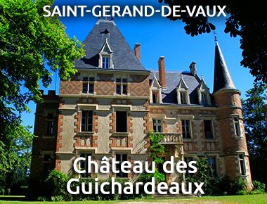 Château de Guichardeaux - St-Gérand-de-Vaux